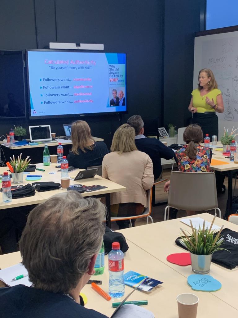 Georgina presenting at Talent Garden – their Executive Mindset Masterclass on 22 November 2019.